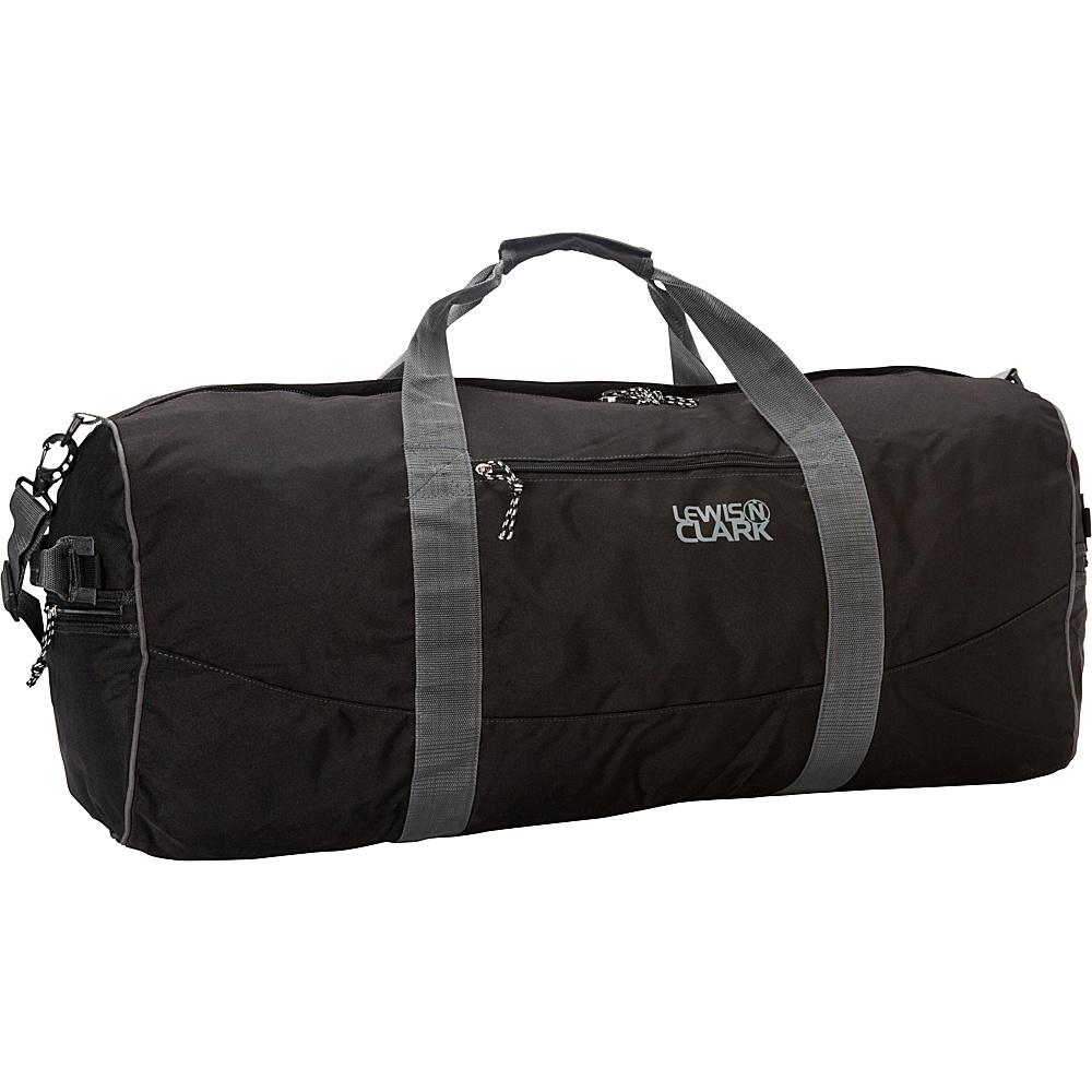 Lewis N. Clark Uncharted Duffel Bag - Small - Black - Duffels, Travel Duffels