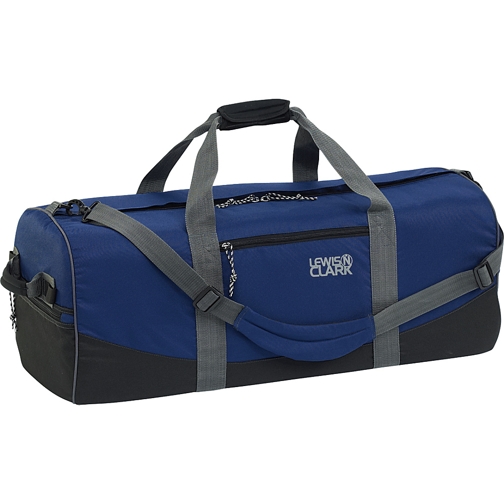 Lewis N. Clark Uncharted Duffel Bag - Small - Navy - Luggage, Rolling Duffels