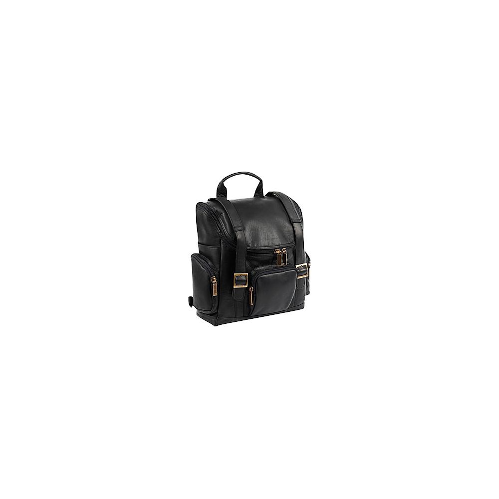 ClaireChase Portofino Laptop Backpack - Regular - Black - Backpacks, Business & Laptop Backpacks