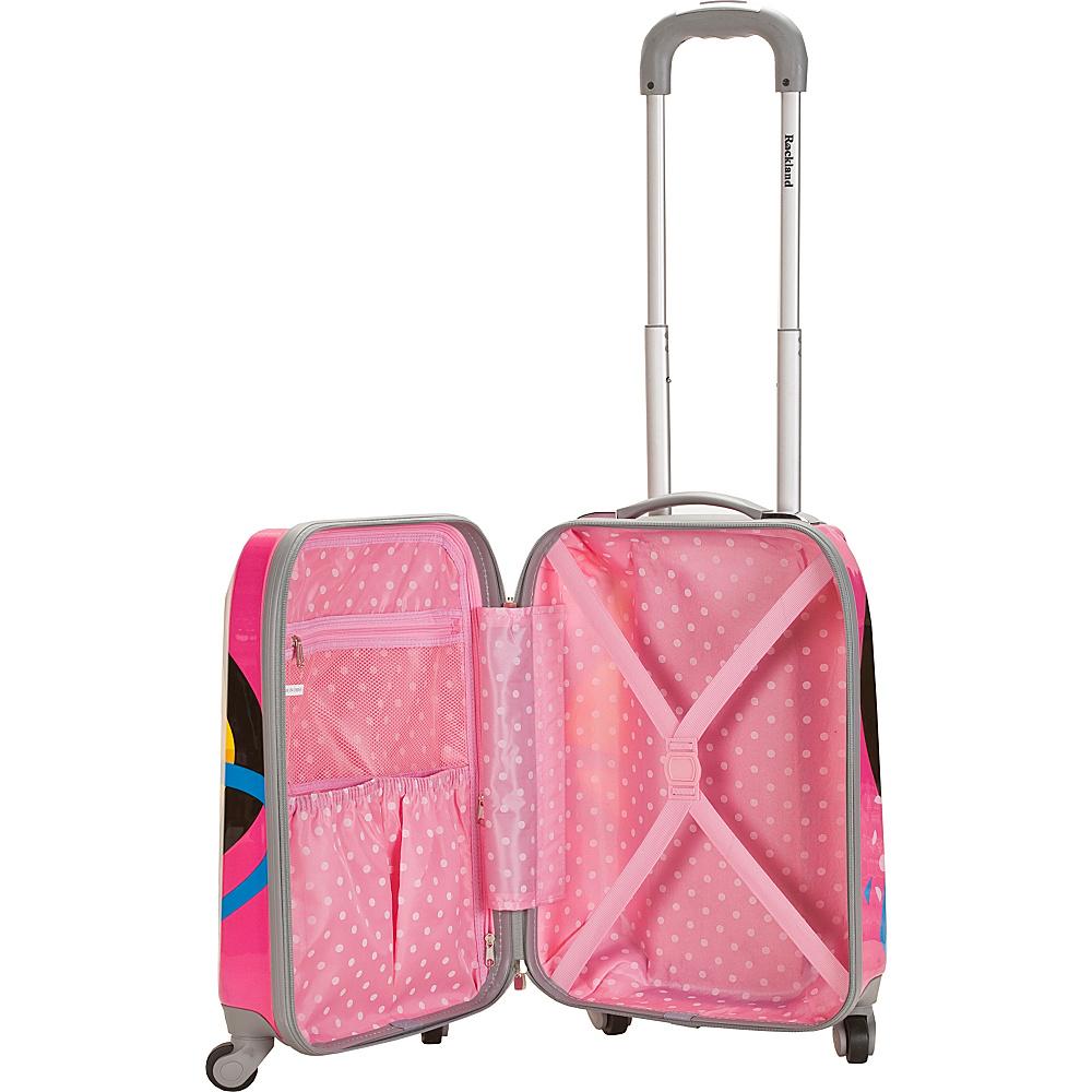 Rockland Luggage 3 Piece Reserve Hardside Luggage Set