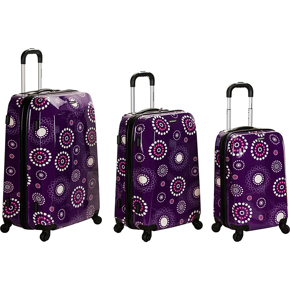 Rockland Luggage 3 Piece Reserve Hardside Luggage Set - Luggage, Luggage Sets