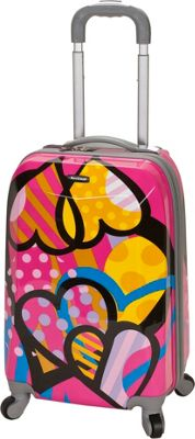 Rockland Luggage 20 inch The Bullet Hardside Spinner Carry-On