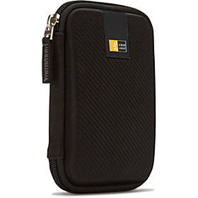 Portable Hard Drive Case Black
