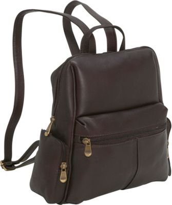 Le Donne Leather Zip Around Backpack/Purse 4 Colors Backpack ...