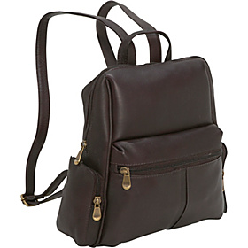 Zip Around Backpack/Purse Café