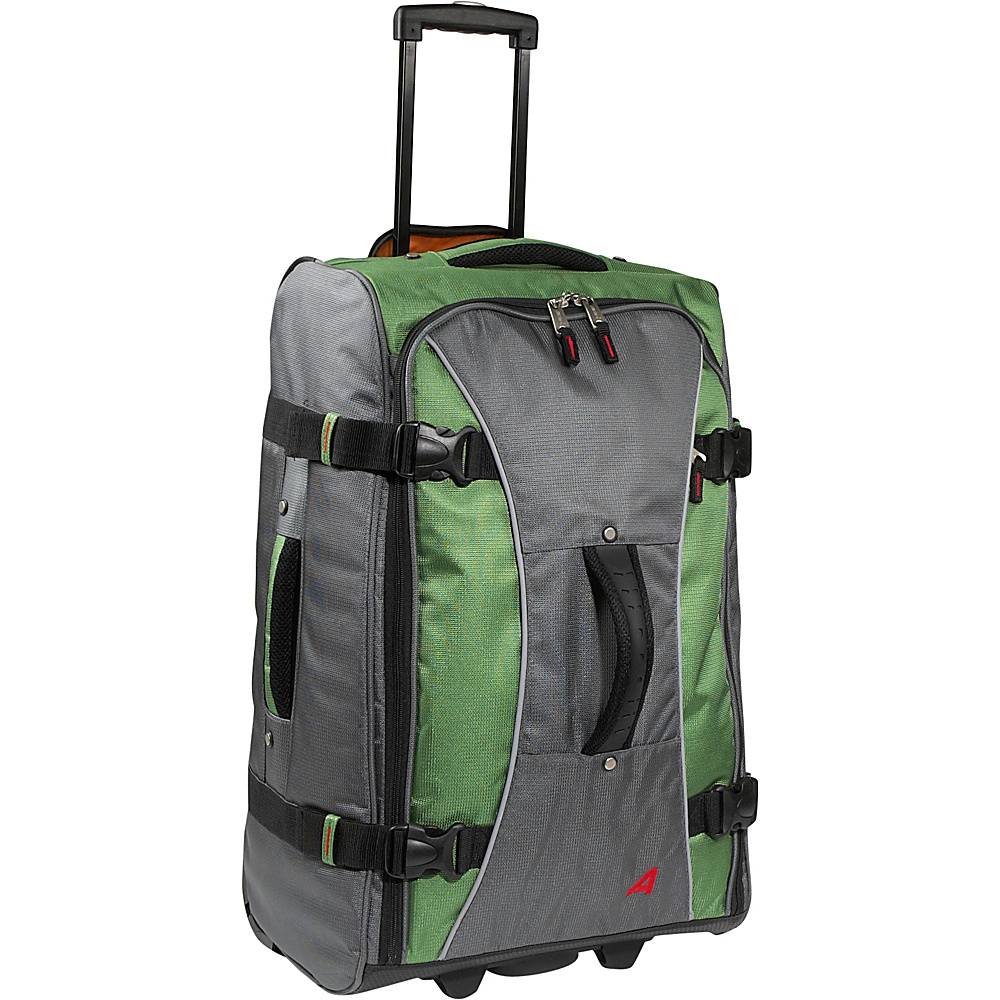Athalon 26 Hybrid Travelers Grass Green Athalon Rolling Duffels