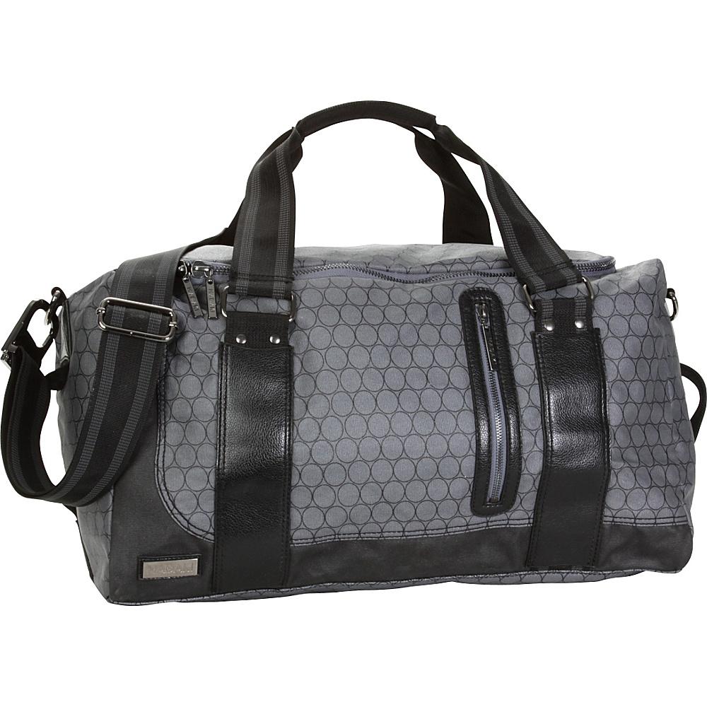 Hadaki Jet Setter Duffel Bag - Gray Circles - Duffels, Travel Duffels