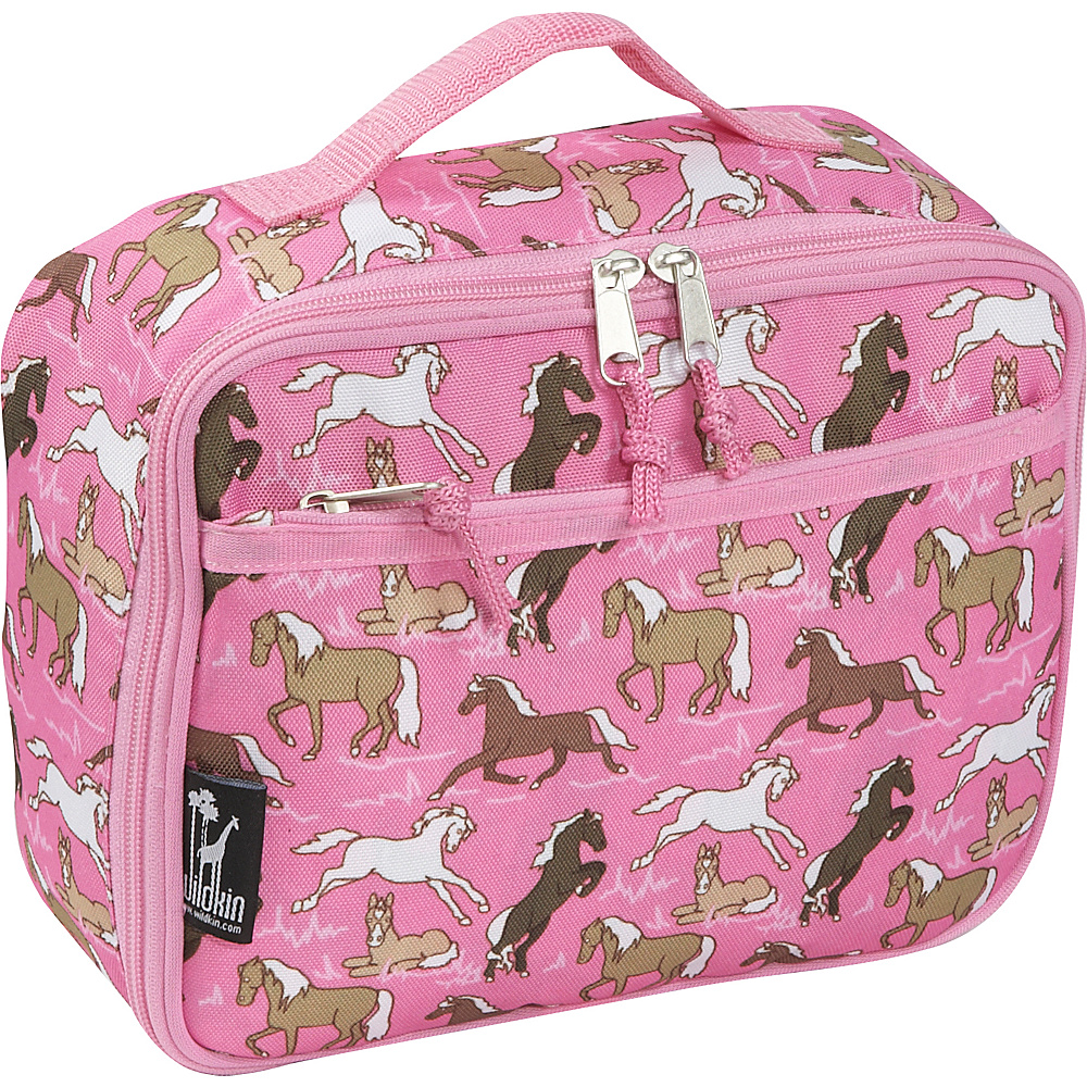 Wildkin Horses in Pink Lunch Box - Horses in Pink