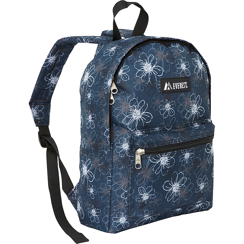 Everest Basic Pattern Backpack Flower - Everest Everyday Backpacks