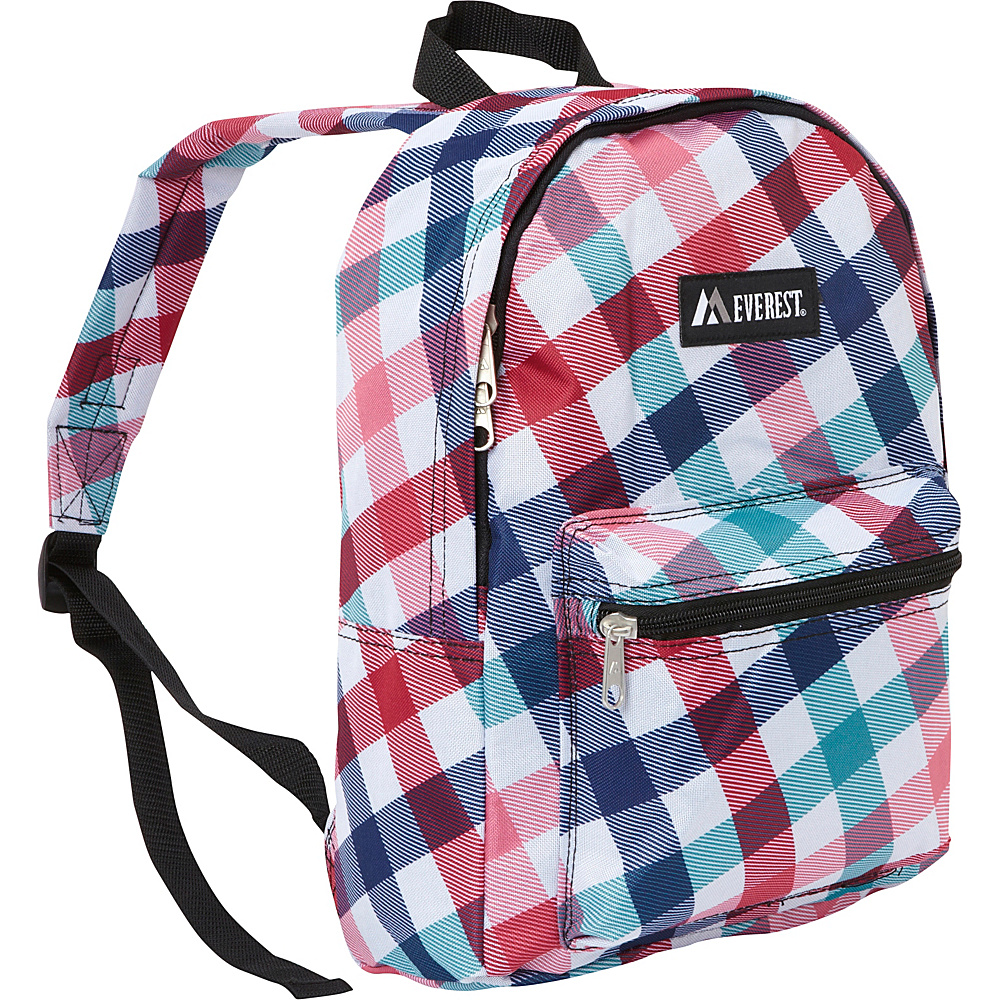 Everest Basic Pattern Backpack Red Blue Diamond - Everest Everyday Backpacks