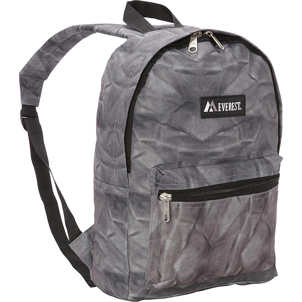 Everest Basic Pattern Backpack Grey Rock Everest Everyday Backpacks