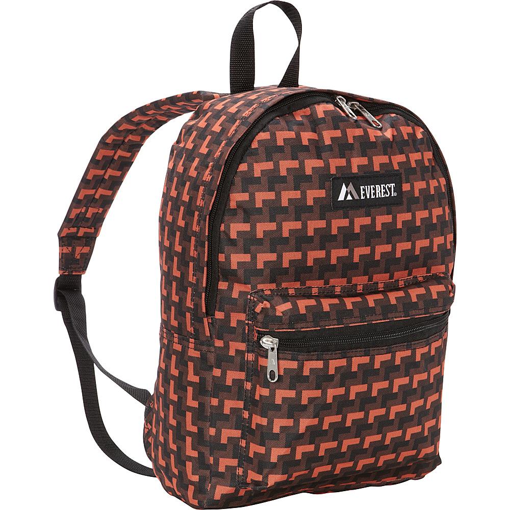 Everest Basic Pattern Backpack Orange Steps - Everest Everyday Backpacks - Backpacks, Everyday Backpacks
