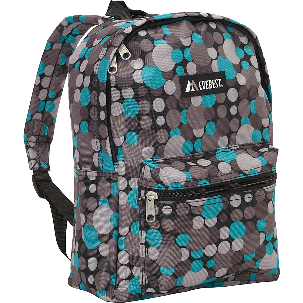 Everest Basic Pattern Backpack Blue Gray Dot Everest Everyday Backpacks
