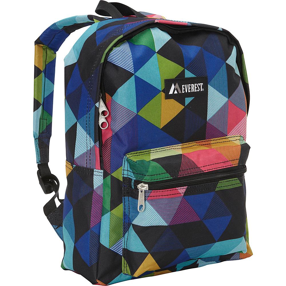 Everest Basic Pattern Backpack Prism - Everest Everyday Backpacks - Backpacks, Everyday Backpacks