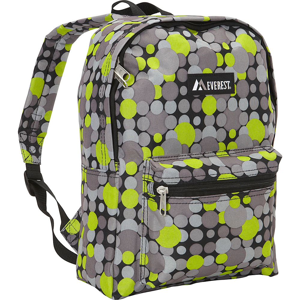 Everest Basic Pattern Backpack Yellow Gray Dot Everest Everyday Backpacks