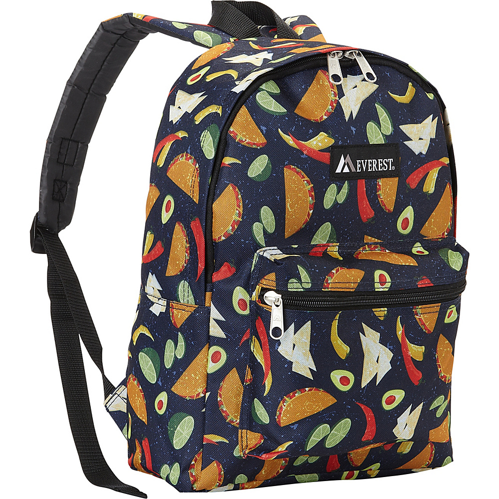 Everest Basic Pattern Backpack Tacos - Everest Everyday Backpacks - Backpacks, Everyday Backpacks