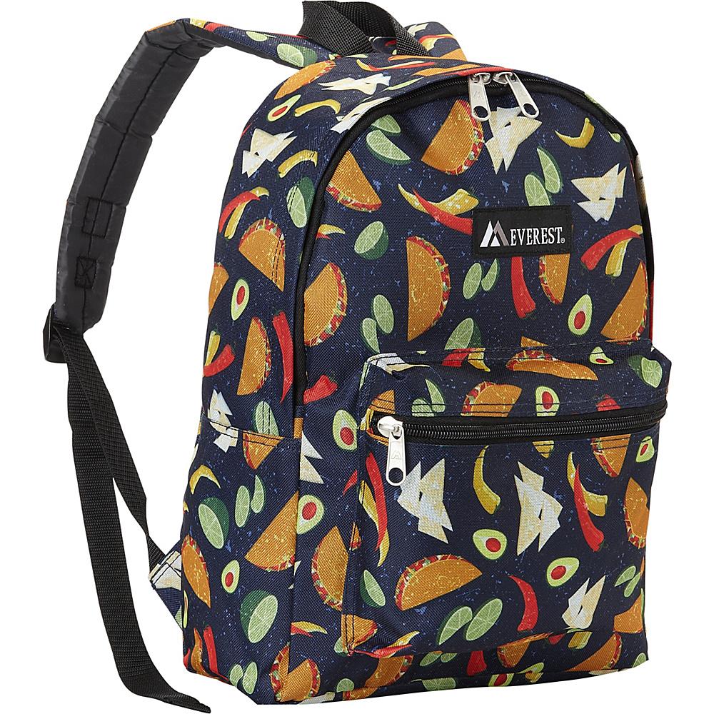 Everest Basic Pattern Backpack Tacos - Everest Everyday Backpacks - Backpacks, Everyday Backpacks