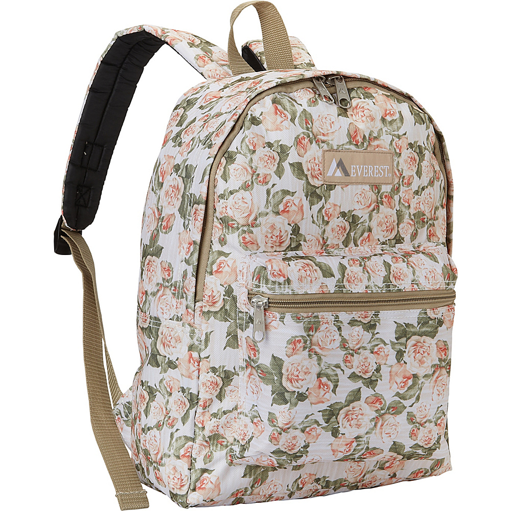 Everest Basic Pattern Backpack Vintage Floral - Everest Everyday Backpacks - Backpacks, Everyday Backpacks