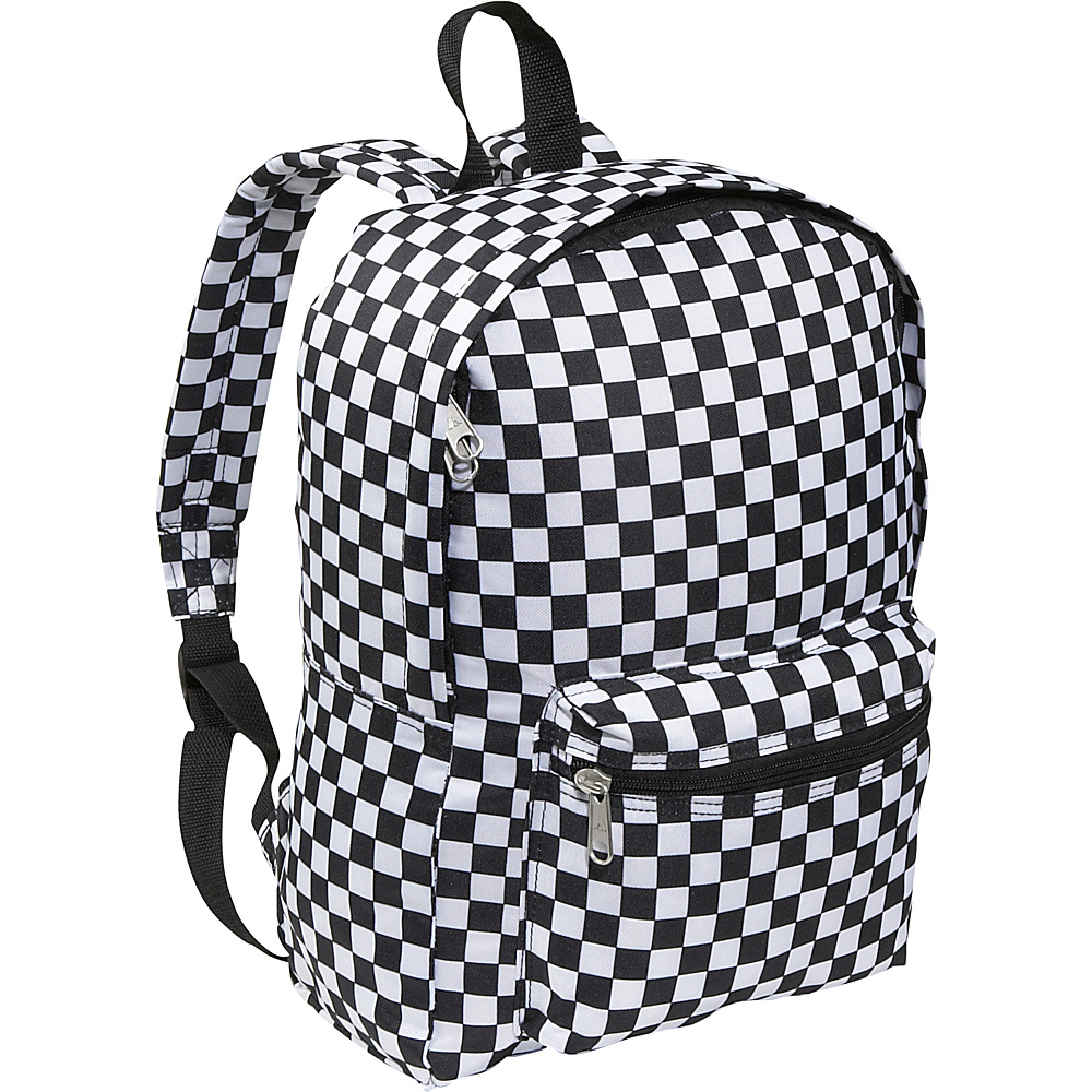 Everest Basic Pattern Backpack - Checker - Backpacks, Everyday Backpacks