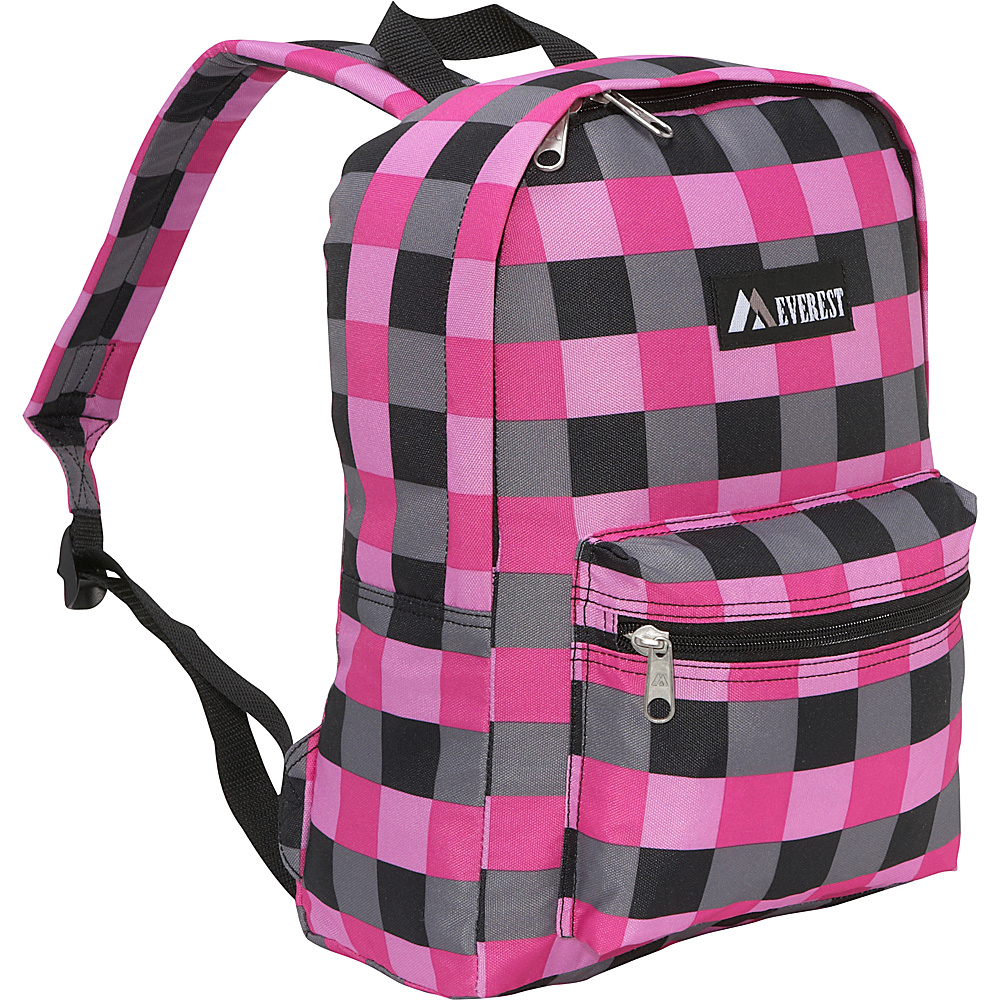 Everest Basic Pattern School & Day Hiking Backpack - Multiple Colors
