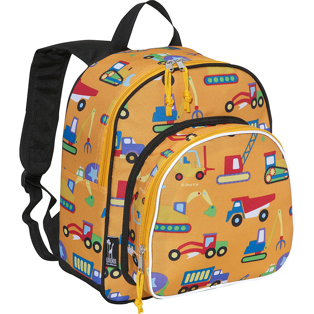Wildkin Olive Kids Under Construction Pack n Snack - Backpacks, Everyday Backpacks