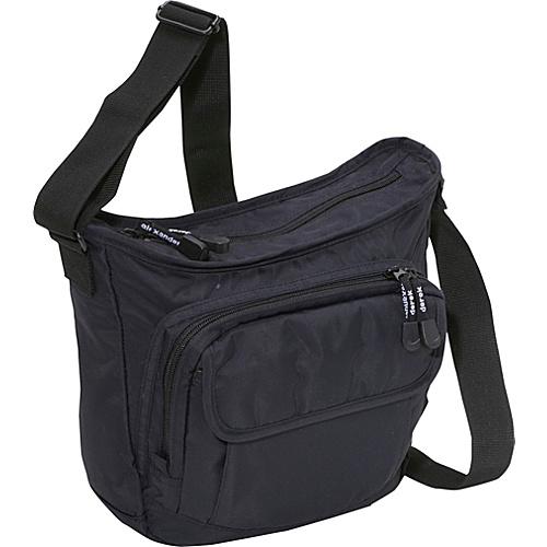 Derek Alexander Top Zip Bucket Bag - Cross Body