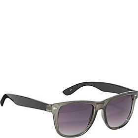 Wayfarer Fashion Sunglasses for Men and Women Grey and Black
