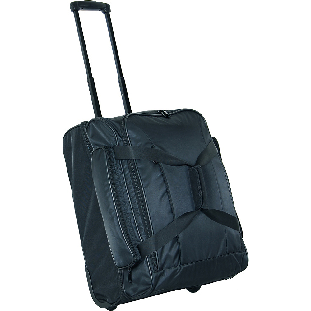 Netpack Travel Light Wheeled Duffel - Black - Luggage, Softside Carry-On