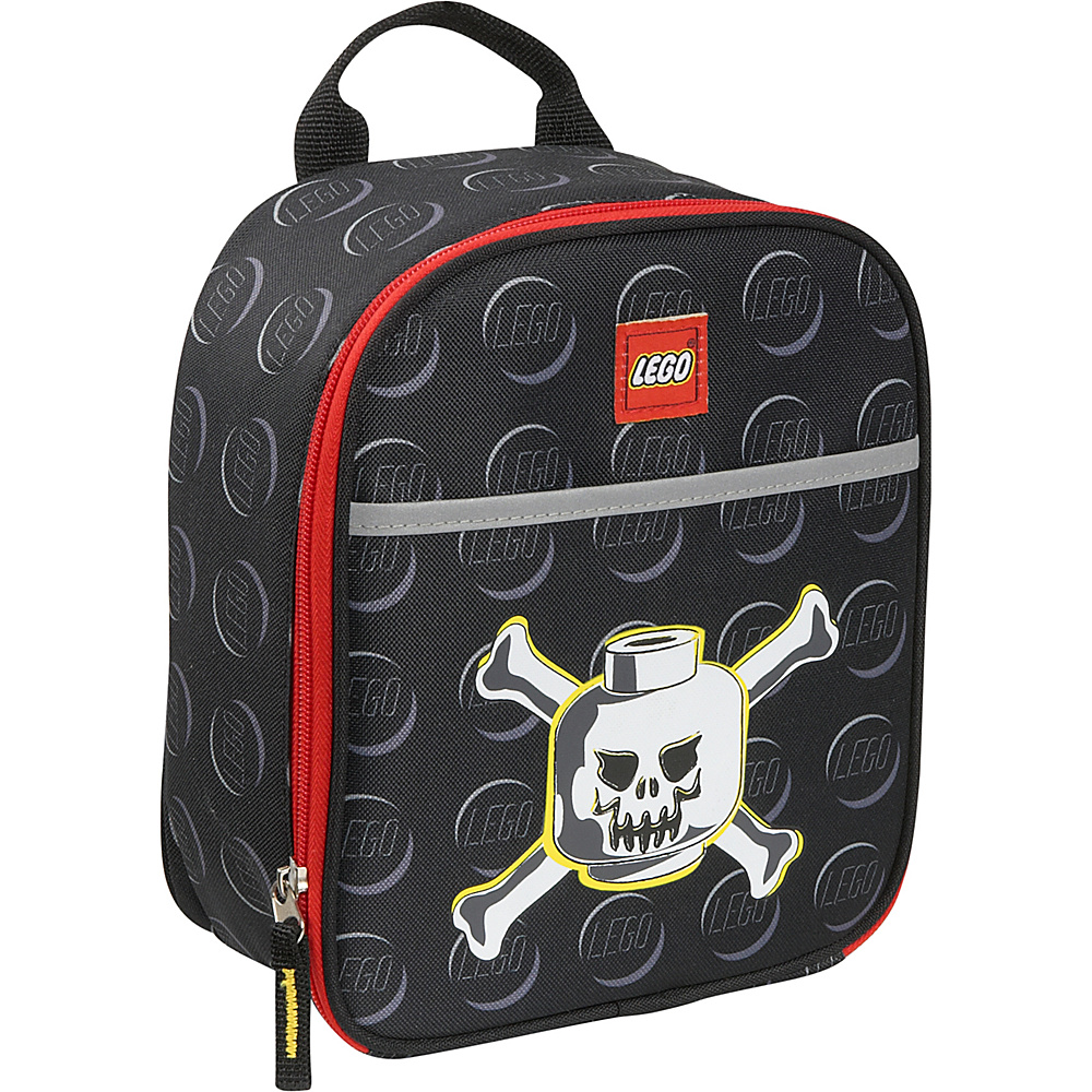 LEGO Skeleton Printed Vertical Lunch Bag Black