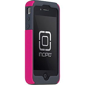SILICRYLIC with Kickstand for iPhone 4 Magenta/Gray