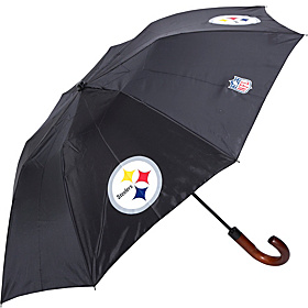 Pittsburgh Steelers Woody Umbrella Black