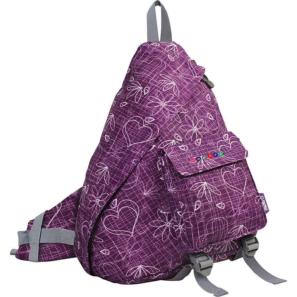 J World Kitten Sling Bag - Love Purple - Backpacks, Slings