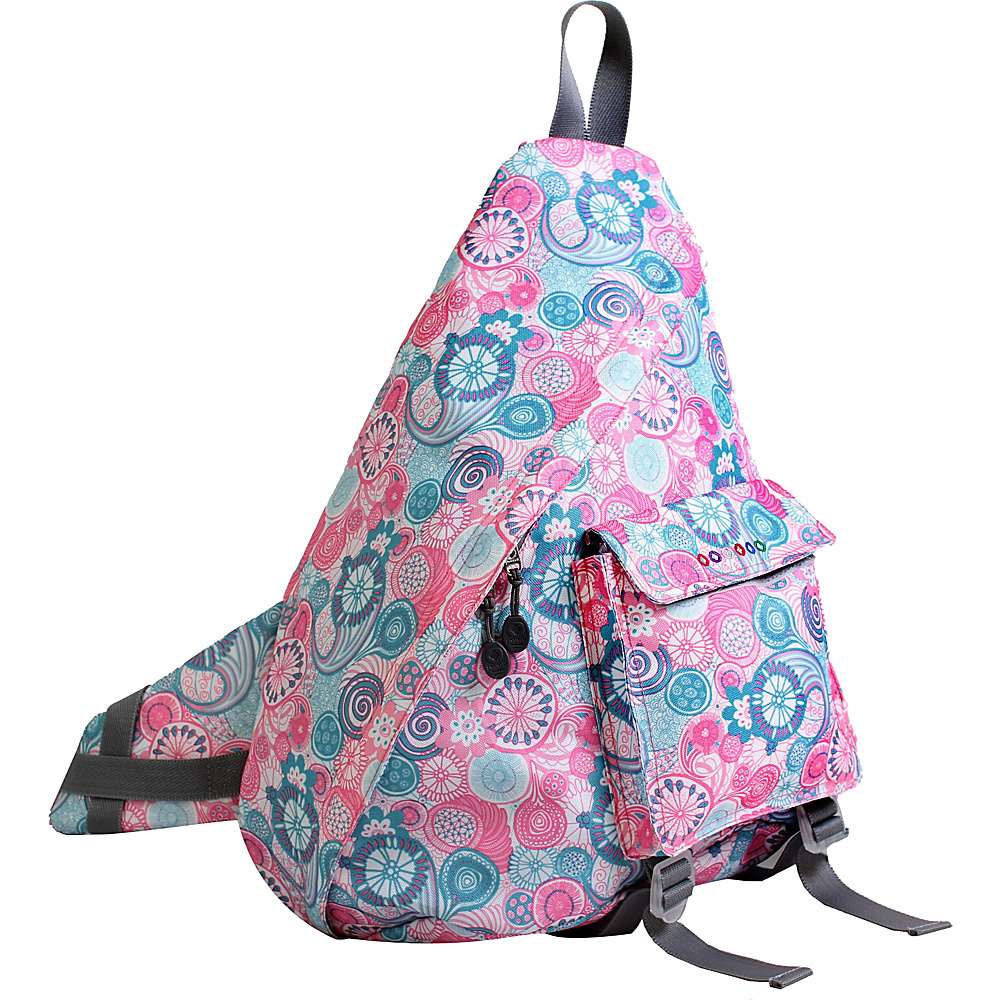 J World New York Kitten Sling Bag Blue Raspberry - J World New York Slings