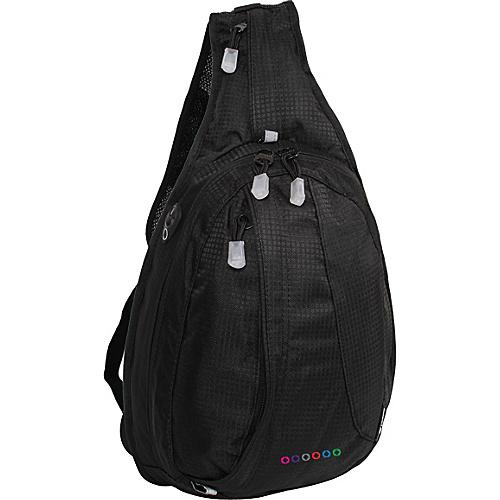 J World Stacy Sling Backpack - Black