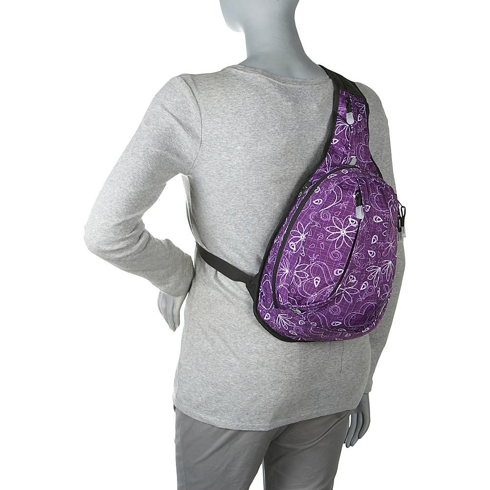 j world new york stacy sling backpack 6 colors ebay. Black Bedroom Furniture Sets. Home Design Ideas