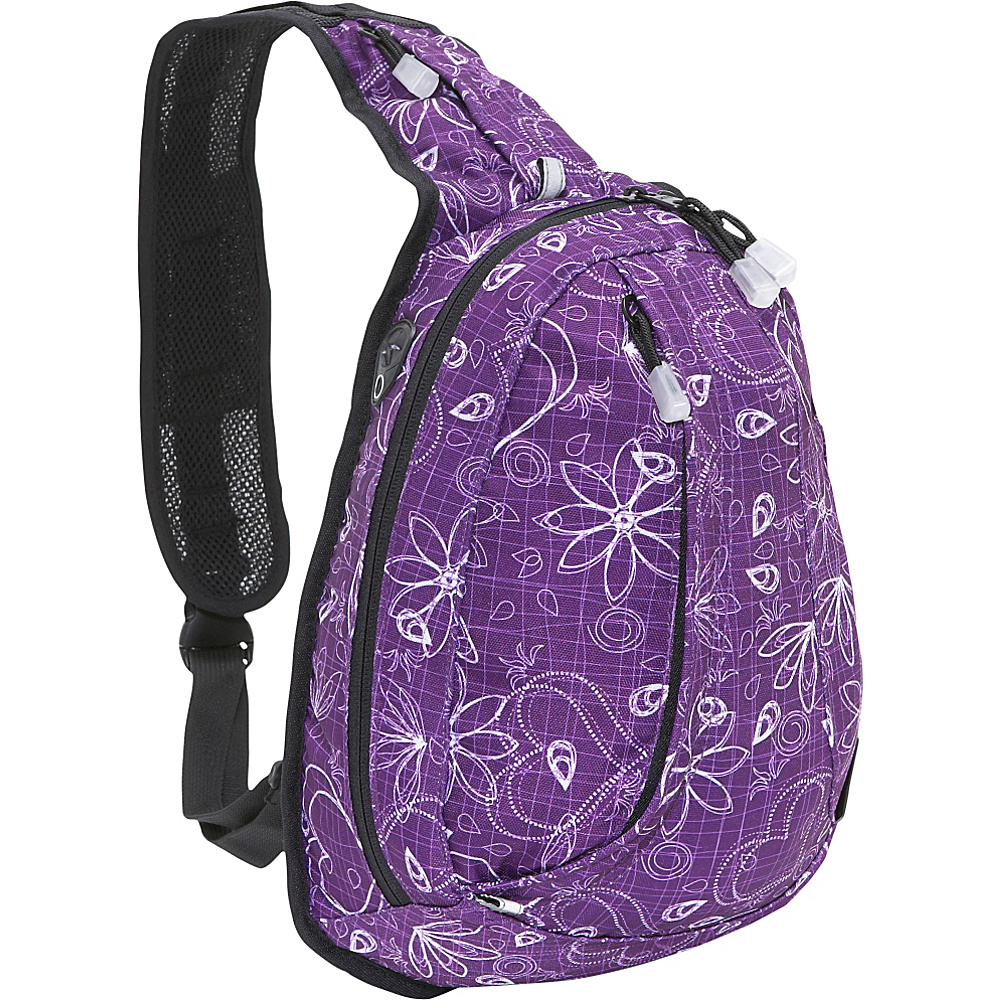 J World Stacy Sling Backpack - Love Purple - Backpacks, Slings