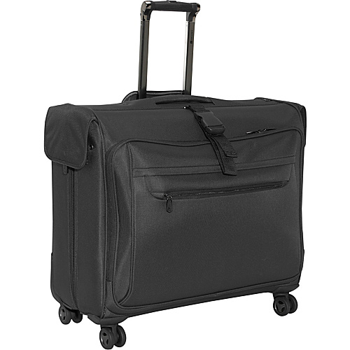 Delsey Helium X'Pert Lite 4 Wheel Garment Bag - Black