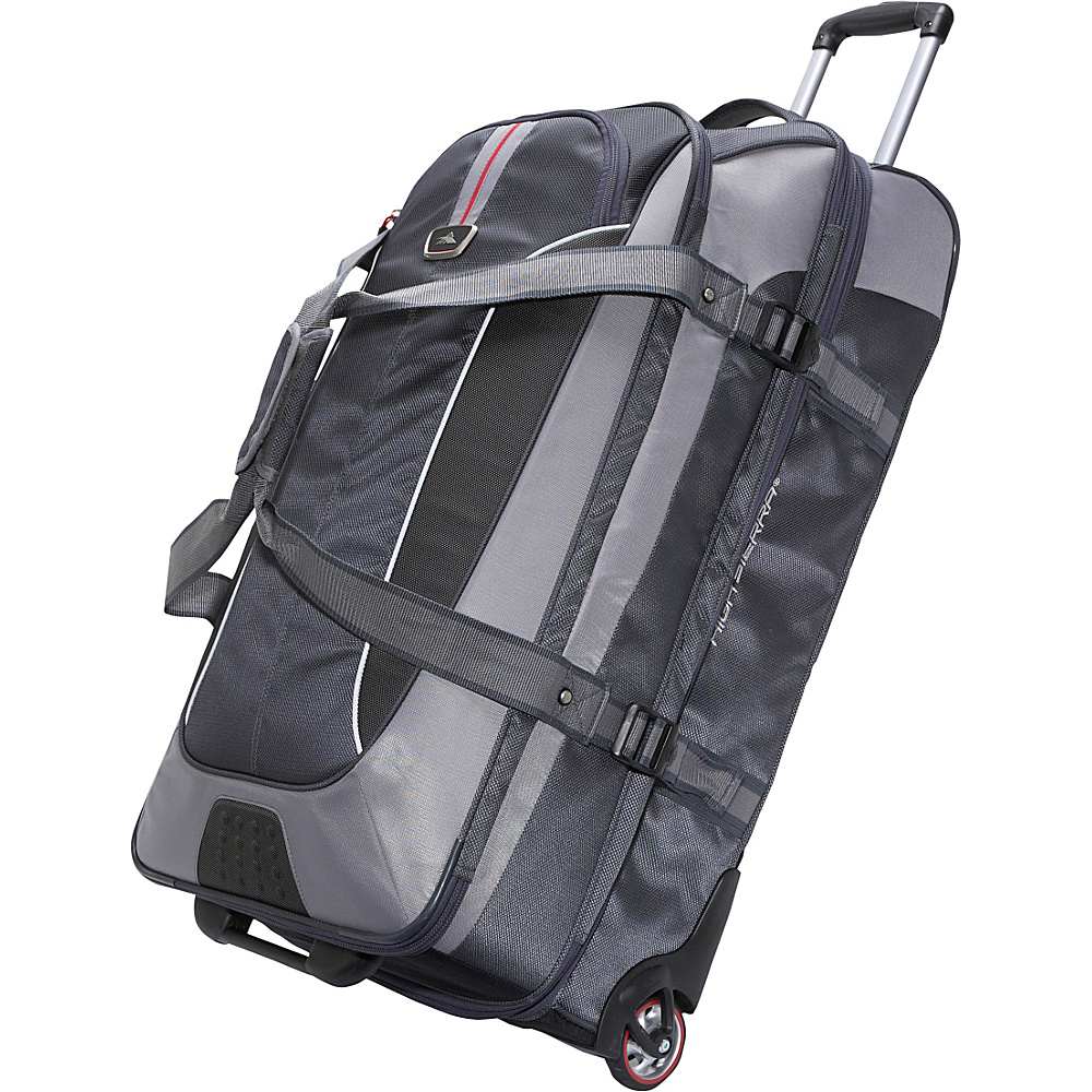 High Sierra AT6 32 Expandable Wheeled Duffel with