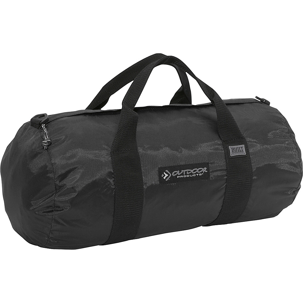 Outdoor Products Deluxe Small 18 Duffle Black Outdoor Products Outdoor Duffels