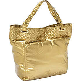 Sheena North South Tote Gold