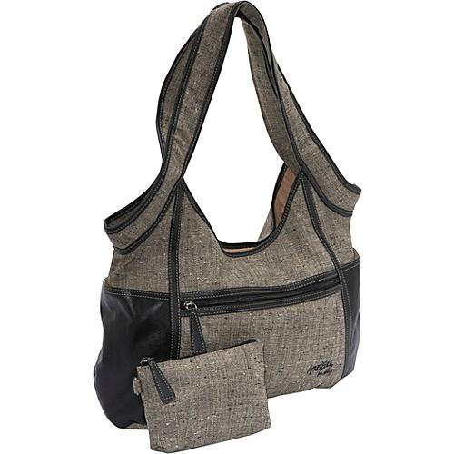 AmeriBag Gabardine Hobo - Shoulder Bag