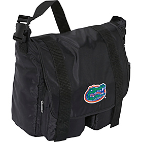 Florida Gators Sitter Diaper Bag Black