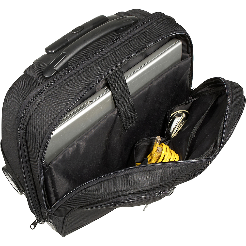 Rockland Luggage Executive Rolling Computer Case