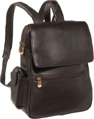Le Donne Leather Ladies Tech Friendly Backpack 3 Colors Backpack ...