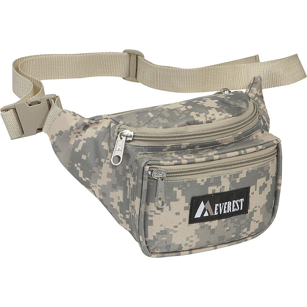 Everest Digital Camo Fanny Pack - Digital Camo - Backpacks, Waist Packs