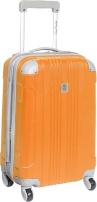 """Image of Beverly Hills Country Club Newport 21"""" Hardside Spinner Carry On Orange - Beverly Hills Country Club Hardside Luggage"""