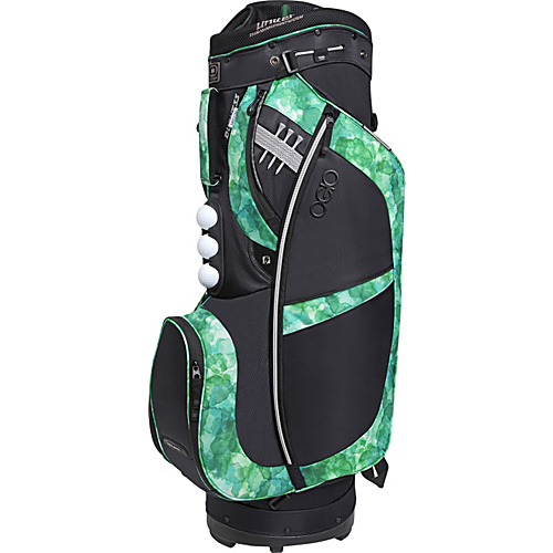 OGIO Women's Duchess Cart Bag Green Watercolor - OGIO Golf Bags