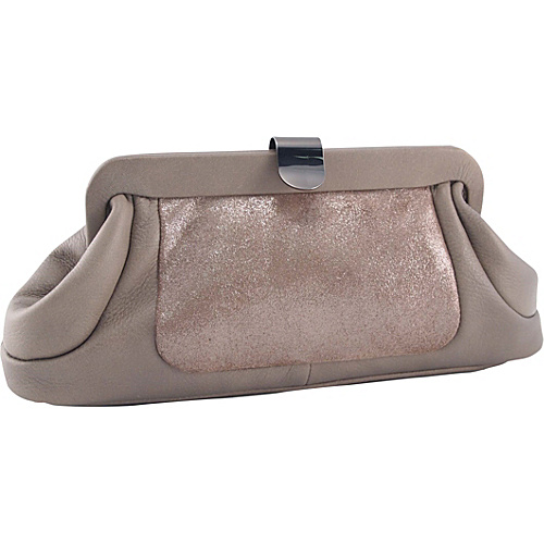 Koret Handbags Im A Lady Clutch - Taupe