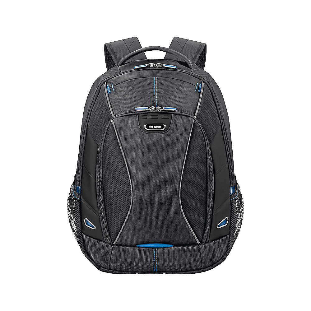 SOLO Tech - 17.3 Laptop and iPad Backpack - Black with - Backpacks, Business & Laptop Backpacks