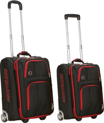 Rockland Luggage Varsity 2 Piece Carry on Luggage Set 675478122075 ...